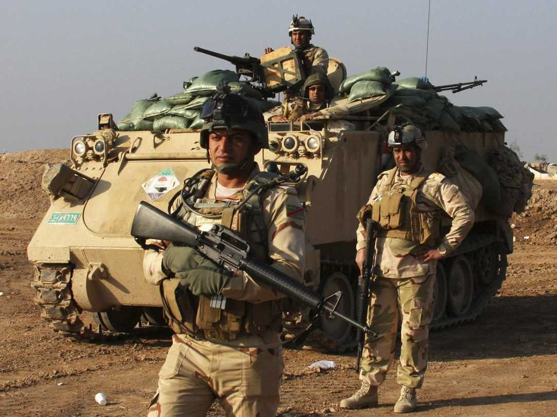 Iraqi forces