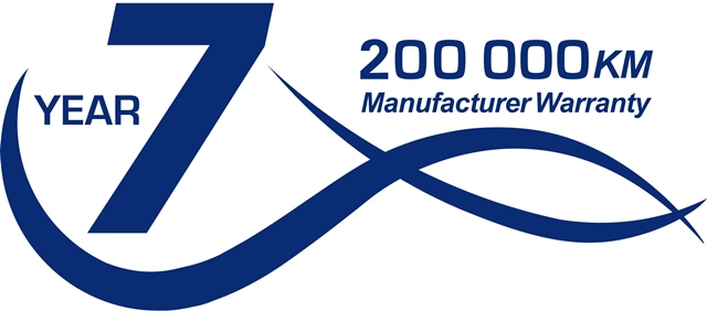 Hyundai introduces 7 year/200 000 km warranty