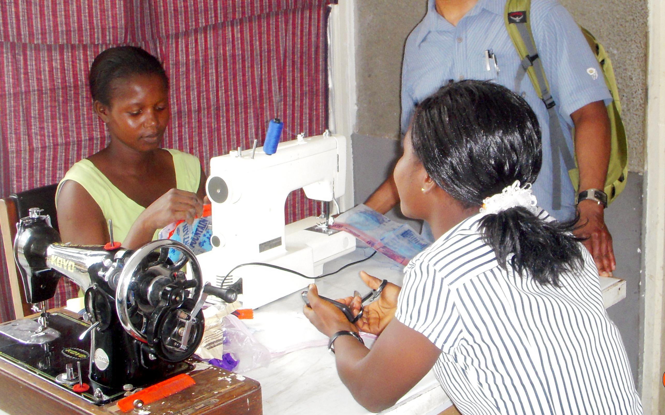 Accra Cas Seamstress