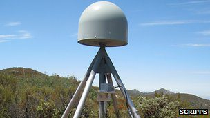 GPS stations like this one are fitted with small seismic and meteorological sensors