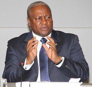 Ghanas Pesident John Mahama