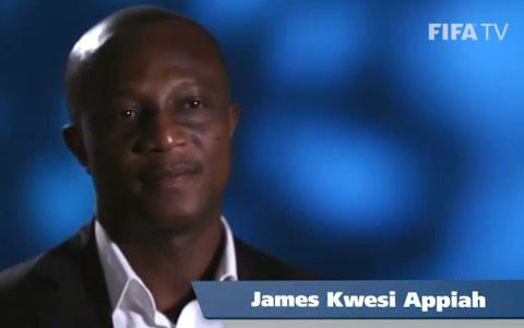 coach James Kwesi Appiah
