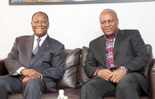 Ouattara And Mahama