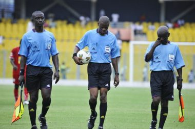 William Agbovi With His Assistants