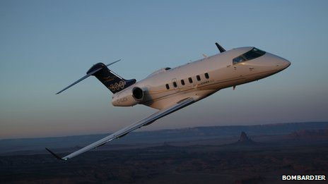 Bombardier is one of the biggest manufacturers of business jets in the world