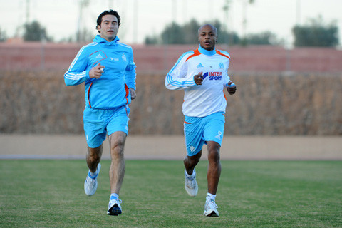 Wpid Andre Ayew Right Has Been Included In The Marseille Squad For Their Clash With Sochaux