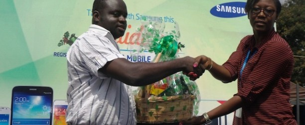 Wpid Samuel Osei Of Frank O Phones Receiving His Reward X
