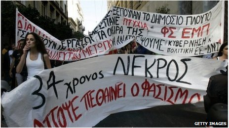 Greece Demo