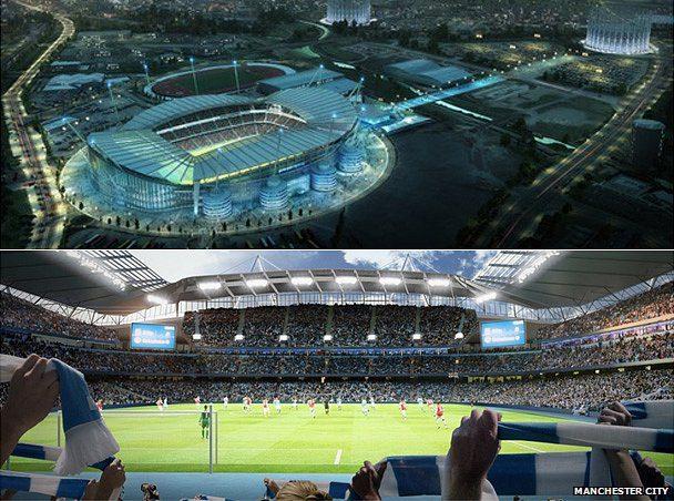 Manchester City Stadium Ex