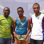 Michael Nwoseh Winner Of Etisalat Rap Competition Enefola Victor Level Microbiology And Ephraim Abiona