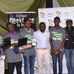 Winners Of Laptos And Phones At The Event