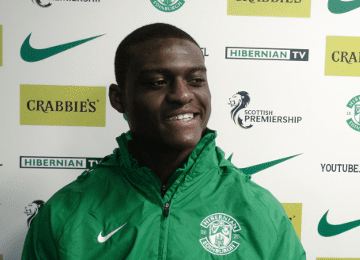 Wpid Daniel Boateng Was On The Hibernian Bench When They Lost In The Scottish Cup On Saturday