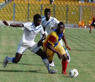 Wpid Gilbert Fiamenyo In Action For Hearts Of Oak