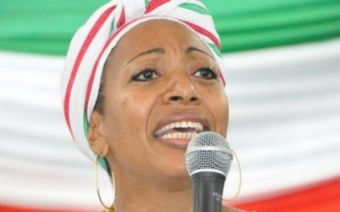 Samia Nkrumah, CPP chairperson