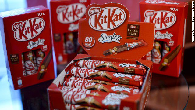 Nestle, the maker of KitKat, Nescafe and Maggi, is at the top of the rankings. Oxfam says: