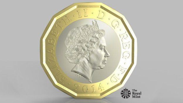 The Royal Mint is introducing the new coin as it believes 3% of existing ?1 coins are fake