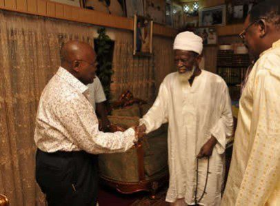 Nana Addo and National Chief Imam
