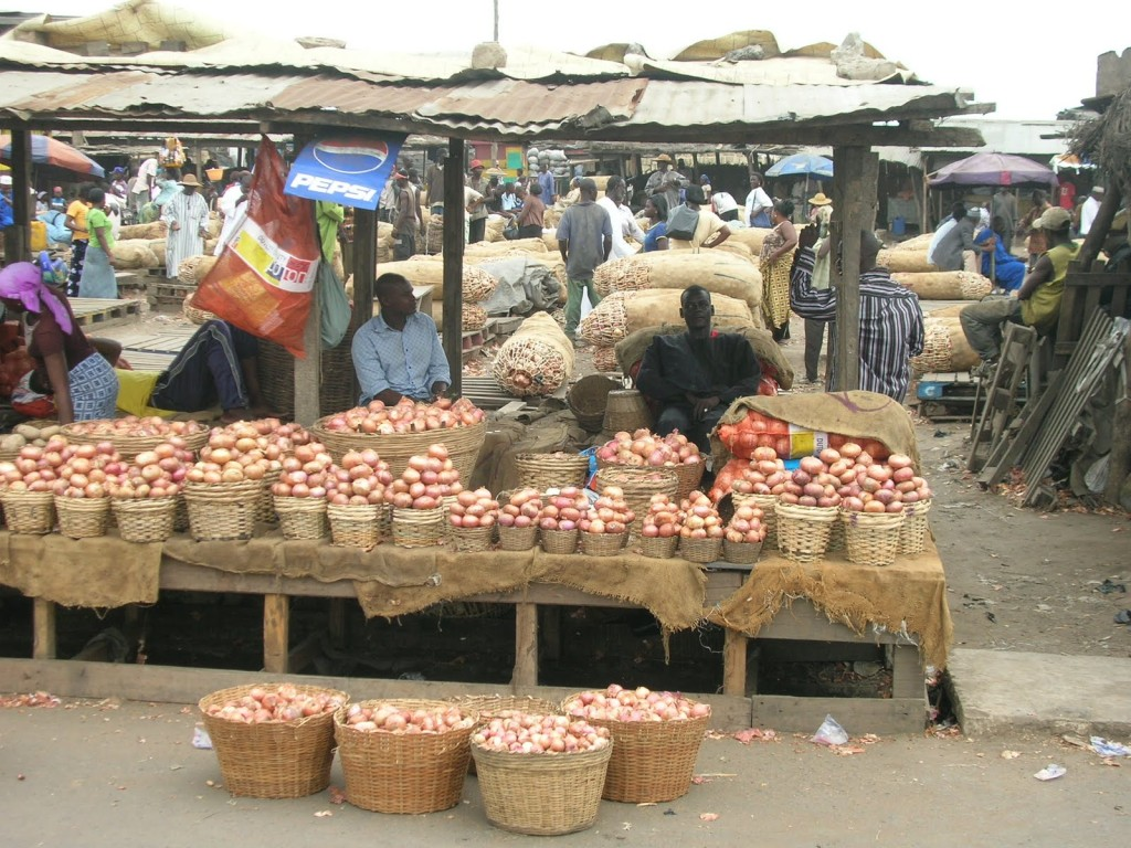 Some Traders At The Agbogbloshie Market In Accra