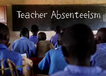 teachers absenteeism