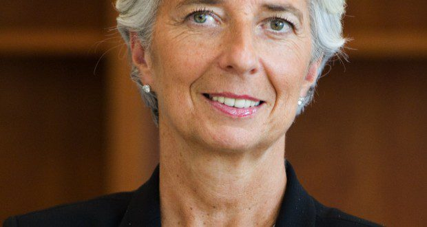 Christine Lagarde Managing Director of the International Monetary Fund
