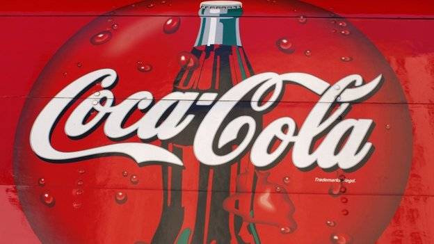 In Europe, Coca-Cola's sparkling drinks sales volumes were down 5%.