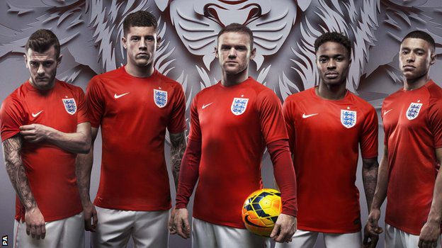 England world cup shir