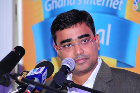 MR. RAHUL DE. CHIEF MARKETING OFFICER FOR MTN GHANA