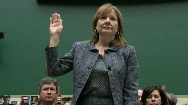 General Motors chief executive Mary Barra says