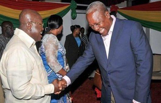 Nana Addo and Mahama