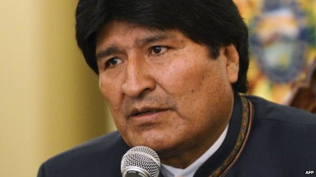 President Evo Morales agreed to meet the unions' demands to raise the minimum salary by 20%
