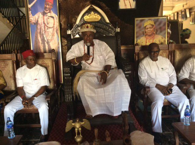 Igwe Iluno of Ifite Dunu