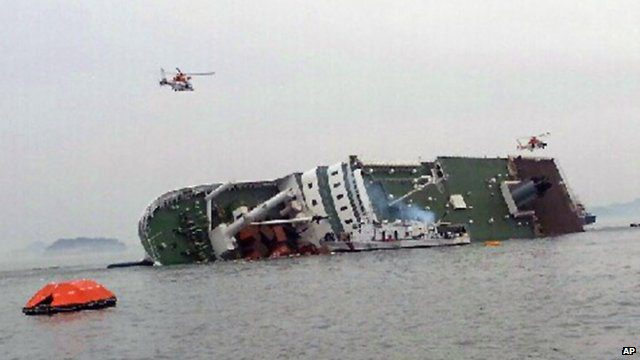 Lucy Williamson: Images reveal how quickly the ship went down