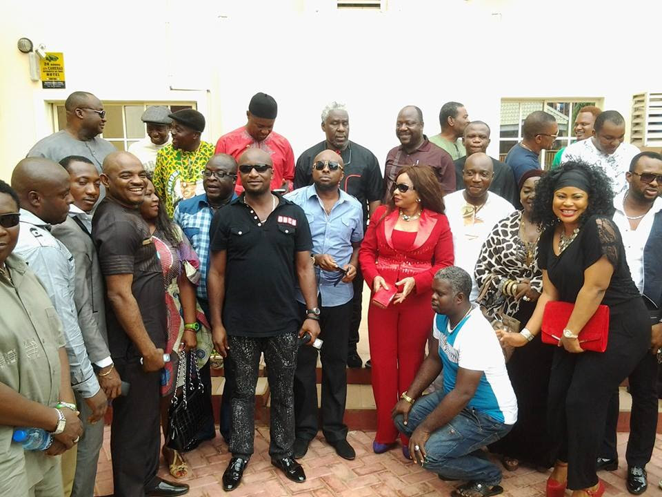 Group Photograph including MINORITY LEADER OF ANAMBRA HOUSE OF ASSEMBLY ,HON TONY ONEWEEK [GYRATION MASTER],