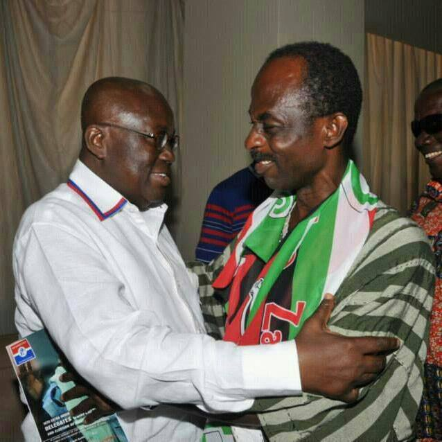 Nana Akufo-Addo and Johnson Asiedu Nketia