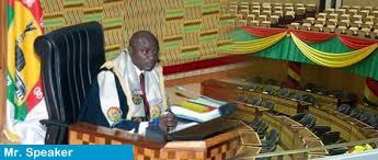 Dr. Edward Doe Adjaho, Speaker of Parliament