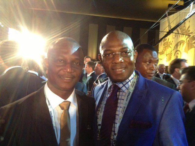 Kwesi Appiah and Stephen Keshie