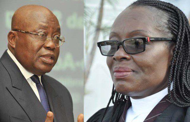 Nana Akufo-Addo and?Gloria Akufo