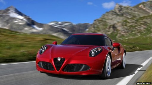 Alfa Romeo made its first appearance in 20 years at this year's New York International Auto Show