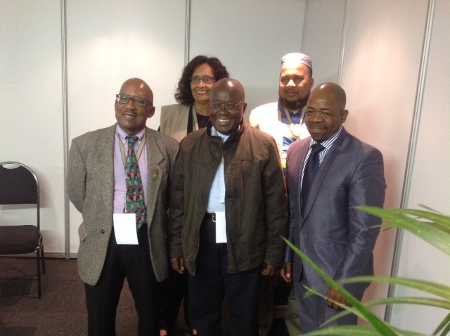 Commonwealth Observers with IEC Commissioners