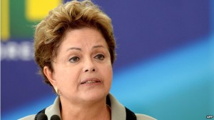 Brazilian President Dilma Rousseff will stand for re-election in October