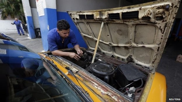 The Cuban government says more than 450,000 people own or are employed by private businesses
