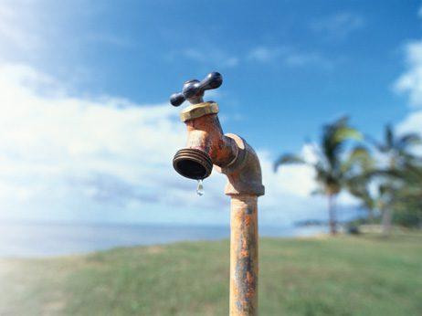 taps run dry