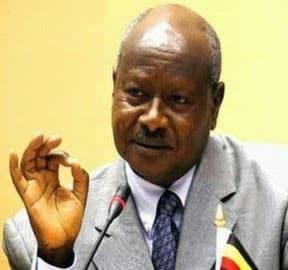 Uganda President Yoweri Museveni
