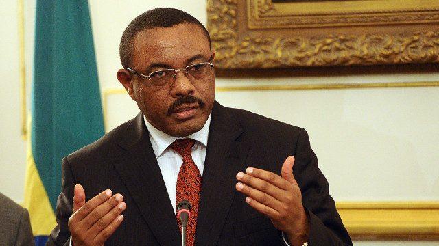 Ethiopian Prime Minister Hailemariam Dessalegn
