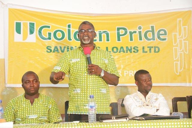 Golden Pride officials