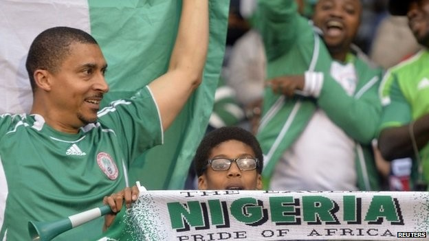 Nigerians are known to be passionate supporters of their team