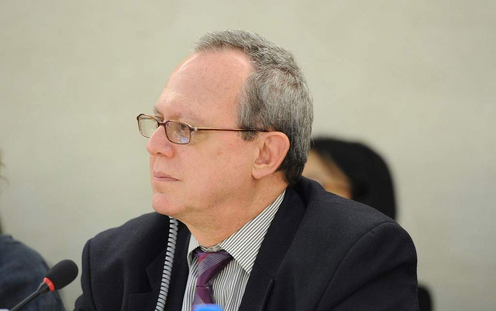 Frank La Rue, Special Rapporteur on the promotion and protection of the right to freedom of opinion and expression. Photo: Violaine Martin