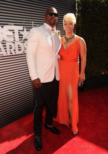 Terry Crews and wife