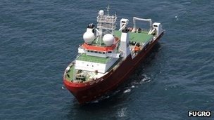 With satellite AIS, ships like Fugro Equator can be tracked anywhere on the oceans