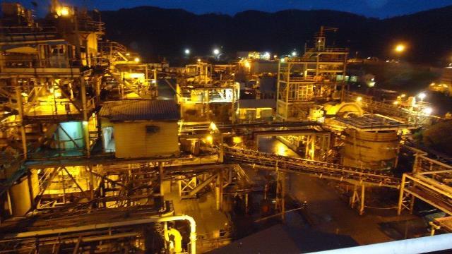 Obuasi Mine's Sulphide Treatment Plant